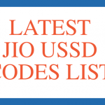 Jio USSD codes list Jio net balance check 2020
